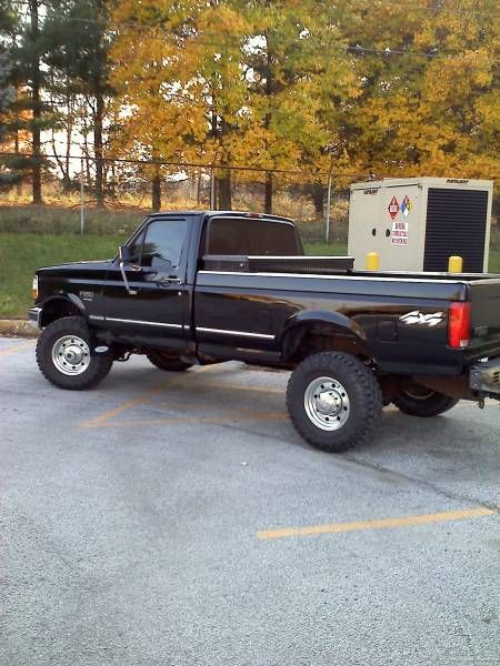 1996 Ford F250 Lifted : lifted, Style, (OBS), Ideas, Diesel, Trucks,, Lifted, Trucks