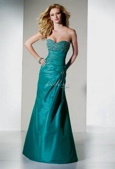 Cool dark turquoise prom dress 2017-2018 Check more at http ...