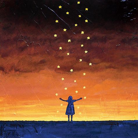 Catch a Falling Star painting