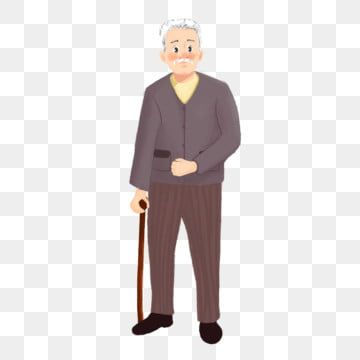 Amiable Old Man Amiable Grandfather Grandfather Old Man Old Man Clipart Hand Drawn Illustration Character Illustration Png Transparent Clipart Image And Psd Old Man Cartoon Man Clipart Character Illustration