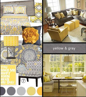 Yellow Gray Yellow Living Room Grey And Yellow Living Room Home