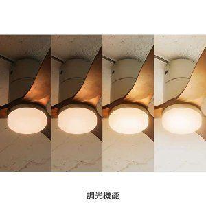 天井照明 シーリングファン Real Wood Blades Je Cf017 Led 天井