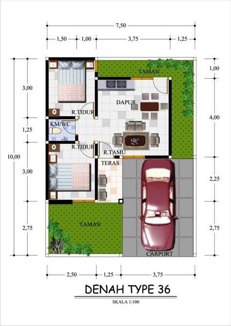 105 Gambar Rumah Minimalis Ukuran 6x11 HD Terbaik