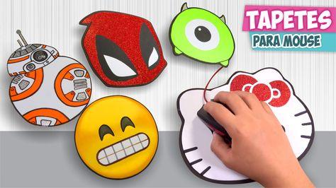 6cb41b86f90 DIY✓ TAPETES PARA MOUSE personalizados (Mousepad) ☆Así o más fácil☆