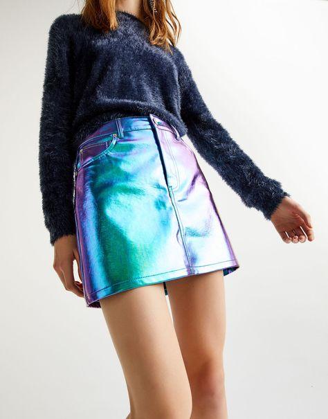 varios colores sitio web profesional rebajas outlet Pull & Bear tiene la falda 'sirenita' con la que brillarás ...