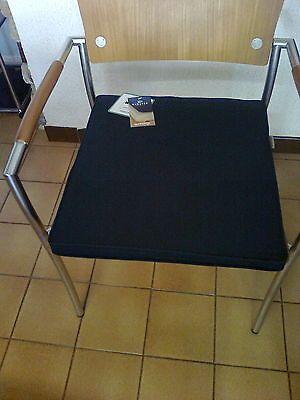 Coussin / Galette chaise ou fauteuil de jardin bleu navy ...