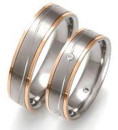 Wij hebben natuurlijk ook titanium trouwringen, die goedkopere alternatieve zijn voor goud.