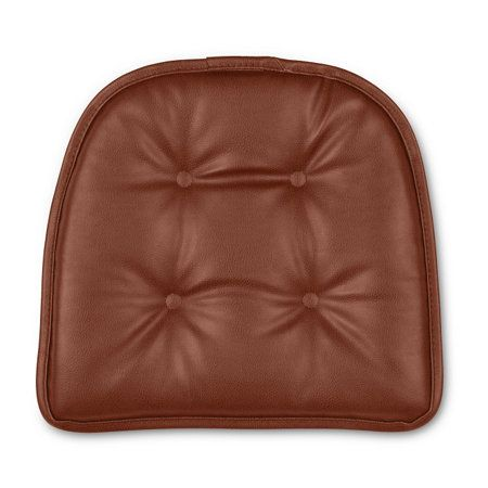 Faux Leather Gripper Chair Pad Chair Pads Leather Faux Leather