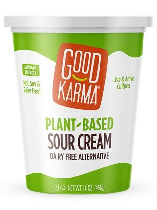 Good Karma Plant Based Sour Cream Review Dairy Free Dairy Free Snacks Dairy Free Alternatives Dairy Free Breastfeeding