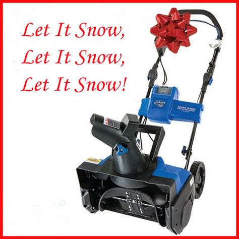 "The gift we all really want! Snow Joe iON 40 Volt Cordless 18"" Single Stage Brushless Snow Thrower with Rechargeable EcoSharp Lithium-Ion Battery at P.C. Richard & Son!"
