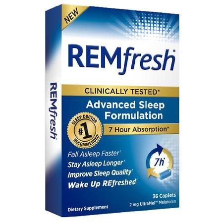 Rem Fresh 2 Mg Ultramel Melatonin Melatonin How To Fall Asleep Sleep Supplements