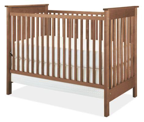Nest Modern Nursery Crib Modern Cribs Modern Kids Furniture