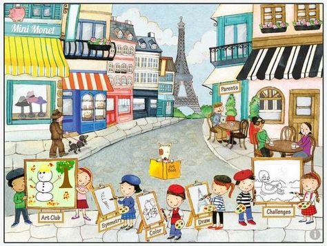 Mini Monet art app for iPad