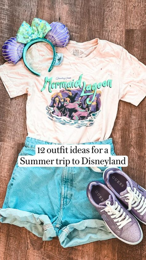 12 outfit ideas for a  Summer trip to Disneyland by Snugzmeow