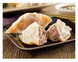Pork Pot-Sticker Dumplings with Lemon Soy Ginger Sauce 8. Print Recipe