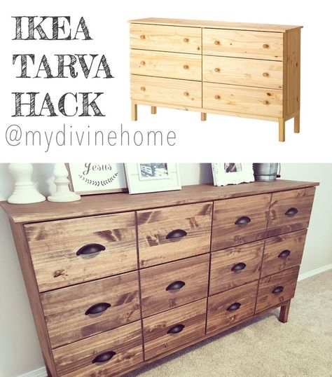 How to Stain an Ikea Tarva Dresser Ikea hack, Dresser and Bedrooms - resiliation bail meuble proprietaire