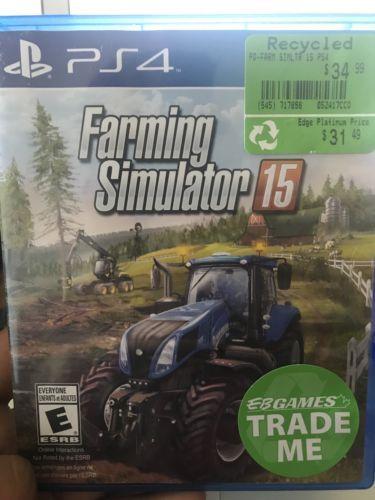 Farming Simulator 15 (Sony PlayStation 4, 2015) | PS4 Game Farming