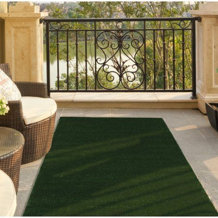 Patio Garden Outdoor Carpet Grass Rug Synthetic Lawn