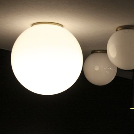 Plafon En Cristal Translucido Disponible En Varios Tamanos Iluminacion Led Decorativa Intemporal Cristais Apliques Bola