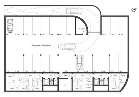 Haus Ii Tiefgarage Jpg 2532 1772 Tiefgarage Garage Parkgarage