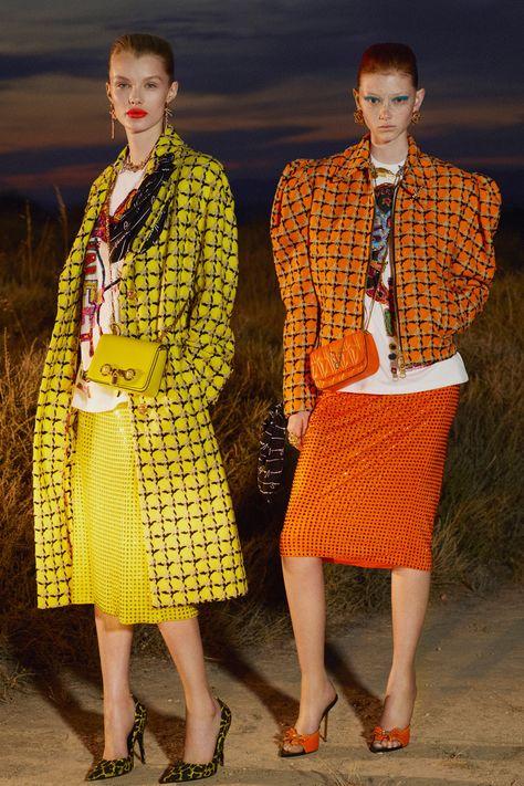 Versace Resort 2020 Fashion Show - Vogue