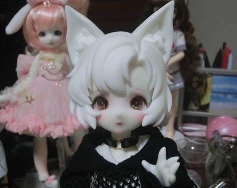 Anime W, Anime Dolls, Bjd Dolls, Pretty Dolls, Beautiful Dolls, Chibi, Character Art, Character Design, Kawaii Doll