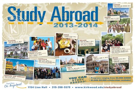 Check Out Kirkwood S Study Abroad Programs For The Upcoming Year Where Are You Going Study Abroad Abroad Study