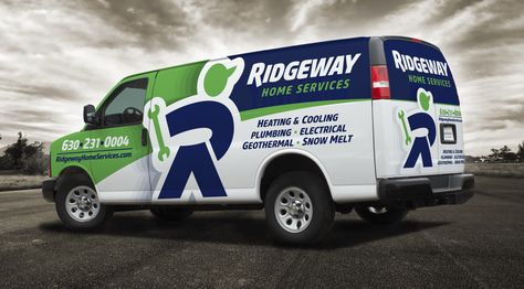 Ridgeway Home Services Graphic D Signs Vehicle Signage Car