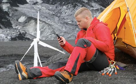 This Mini, Portable Wind Turbine Could Charge Your Phone Or Power Your House   Co.Exist   ideas + impact