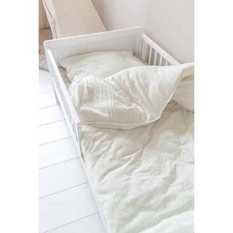 Lit Enfant Barrieres 2 Ans Bois Blanc 70x140 Cm Petite Amelie En