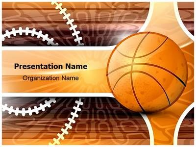 Free Basketball Training Powerpoint Template  Free Powerpoint