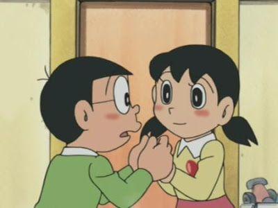 Nobita And Shizuka Cute Love Wallpapers For Iphone Hd 4k 3d