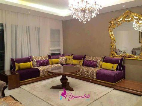 fabrication des salons marocains Salon marocain Pinterest - decoration maison salon moderne