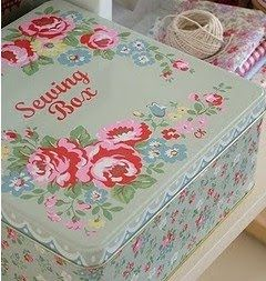 perfect girly sewing box..