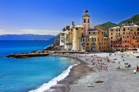 Ligurian coast - Camogli, Italy