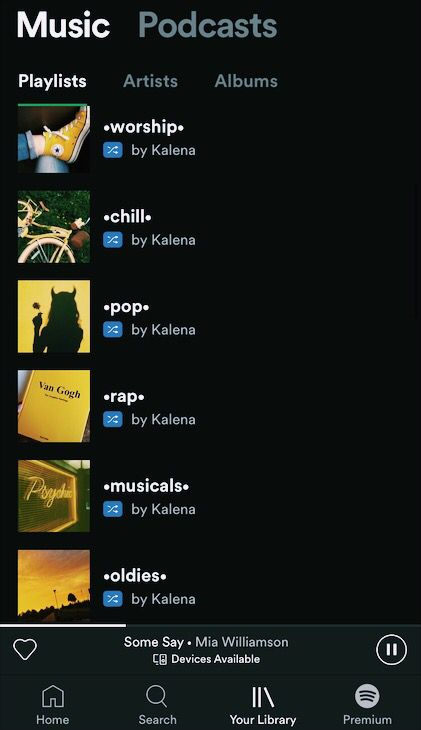 Aesthetic Spotify Account Artist Album Songs Spotify
