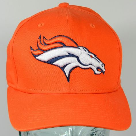1d6b806b Denver Broncos Super Bowl XXXII 32 Orange Snapback Cotton Hat New ...