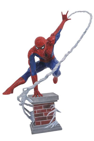 Marvel Diamond Select AMAZING SPIDER-MAN 2 Action Figure w// Wall by Gentle Giant