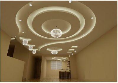 Modern False Ceiling Gypsum Board Ceiling Design For Living Room