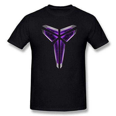 14849953a16a Tee Times Men s NBA Kobe Bryant Triangle Logo Black T shirt  www.nbafaniam.com