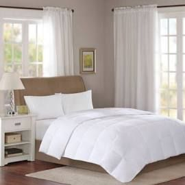 Sleep Philosophy Year Round Warmth Full Queen Comforter In White Olliix Basi10 0291 In 2021 Down Comforter White Down Comforter Comforters