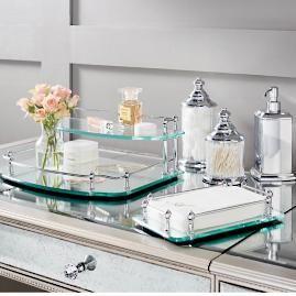 Resort Bath Accessories Vanity Tray Bathroom Furniture Diy
