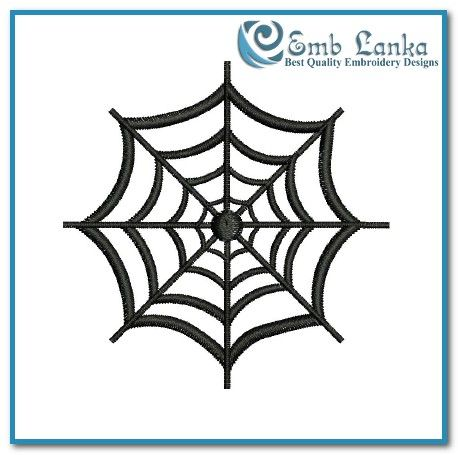 Free Spider Web 2 Embroidery Design Emblanka Com Free Machine Embroidery Designs Embroidery Designs Embroidery Download