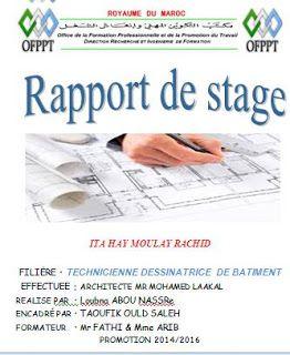 Rapport De Stage Architecture 2eme Annee Rapport De Stage Architecture Stage Architecture Stage