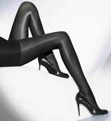 Wolford Women's Neon 40 Tights: A high-gloss finish brings extra glamour to these Wolford tights.