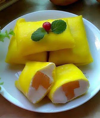 Pancake Mangga Resep Kue Resep Makanan