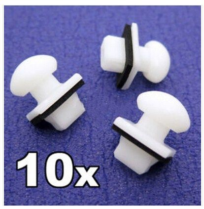 10x For Ford Maverick 00 06 Mazda Mpv 00 06 Bumper Bracket Clips Slider Clips Interior Accessories Interior