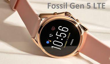ساعة فوسيل Fossil Gen 5 Lte الذكية In 2021 Smart Watch Fossil Wearable