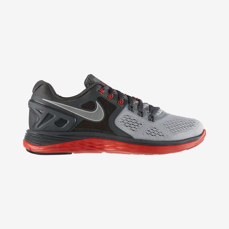 Men's Nike Free 4.0 V3 Running Shoes | FinishLine.com | White/Black/University  Red | Automobiles | Pinterest | Running shoes, Running and Nike running