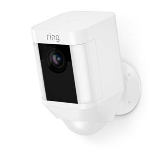 Ring 88FL000CH000 Outdoor Wi-Fi Camera with Motion Activated Floodlight in White